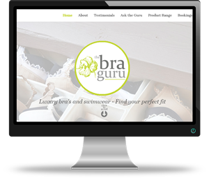 The Bra Guru Website