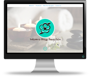 Belezza Beauty Salon Website