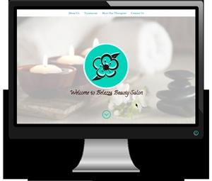 Belezza Beauty Salon Website