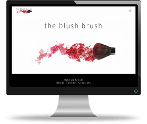 The Blush Brush Website