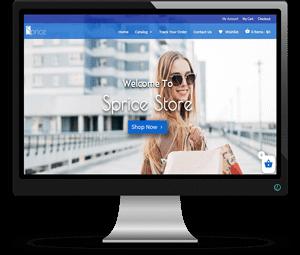 Sprice Store Website